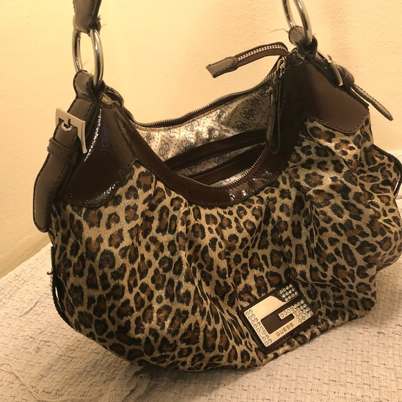 Guess Animal Print Handbag